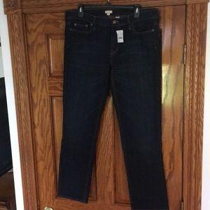 J Crew Ladies Matchstick Skinny Leg Jeans Size 32S